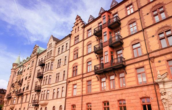 husfasader i stockholm
