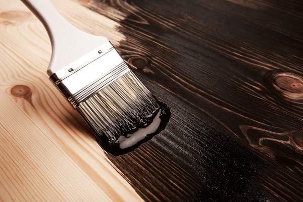 måla med linoljefärg på golv
