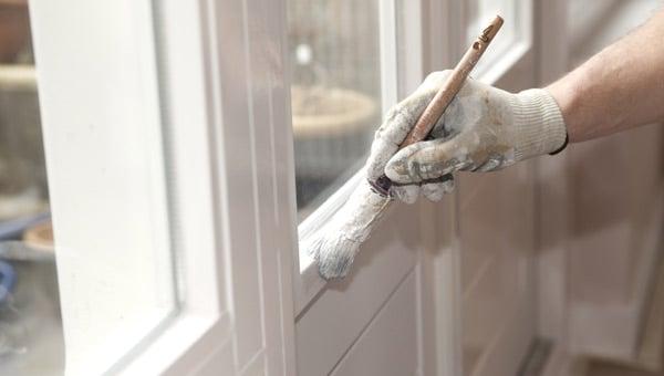 måla fönster vitt