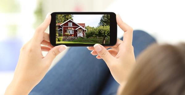 app i telefonen där du kan byta färg på ditt hus