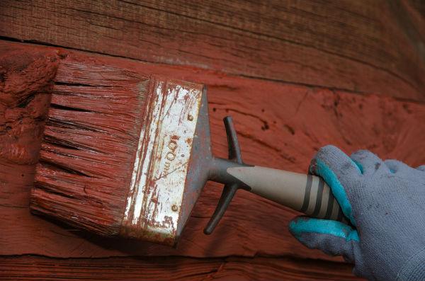 måla hus utvändigt