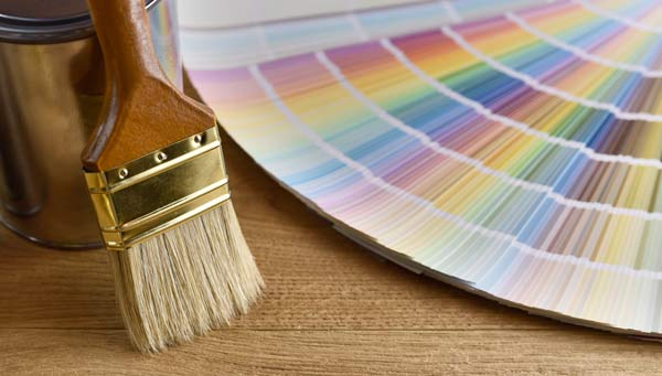 linoljefärg i många kulörer för att måla på golv
