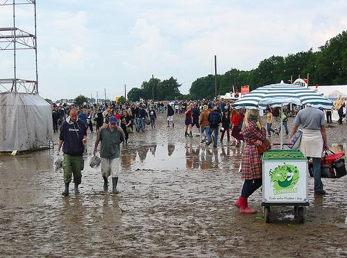 Roskilde Festival 2004 - Det første indtryk