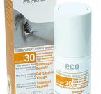 Eco Cosmetics, solgel för ansiktet SPF 30, 30 ml