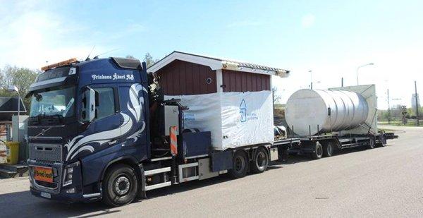 Vi hanterar och leverar maskintransport i Sverige, oavsett storlek och distans.