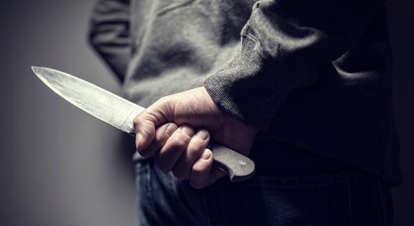 knivlagen - kniv avsedd att användas för våld