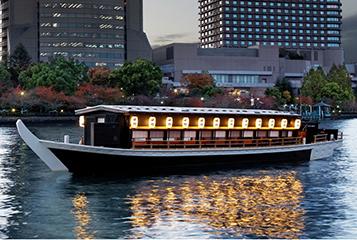 大阪屋形船