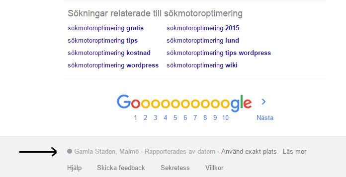 Google tvingar nu en att söka lokalt