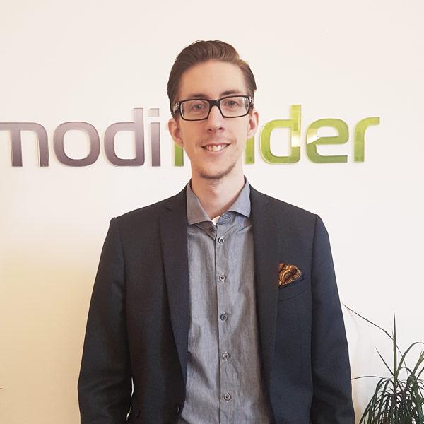 Måns Gullberg, VD och SEO-expert på Modifinder AB