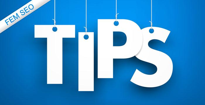 sökmotoroptimering tips