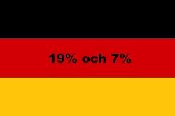 Tyska momssatser och information om moms och momsregistrering i Tyskland. Hur registrerar man sig för moms i Tyskland?