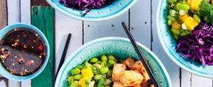 vegansk mat, catering