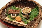 焼物 牛フィレ肉の朴葉焼