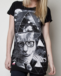 Glamour Kills - Dusty The Cat Girls Tunic