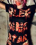 Bleeding Star - Wrath Girls T-shirt