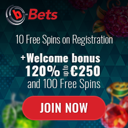 B-BETS GIVES 10 CASINO FREE SPINS ON SIGN UP NO DEPOSIT | No