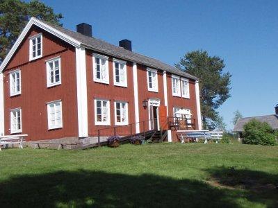 Nora hembygdsgård från vägen.