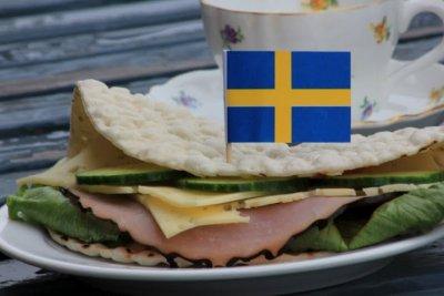 God tunnbrödsmörgås
