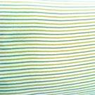 Eko-ribjersey GOTS certif. vaturvitt botten, ljusgrön, mörkgrön rand