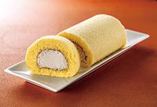 栗〜むロールケーキ