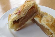 栗とりんごのパイ