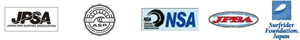 日本サーフィン連盟競技会 所属団体