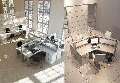 پارتیشن کوتاه جهت تولید میز های کارگروهی