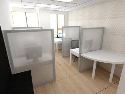 یک صفحه شیشه ای معمولا 10 میل سکوریت و بدون هیچ فریمی ساختار این نوع پارتیشن را تشکیل میدهد