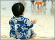 本島で一番早い海開き