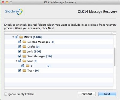 How to Recover OLK14 Message files from Mac to Readable Mail