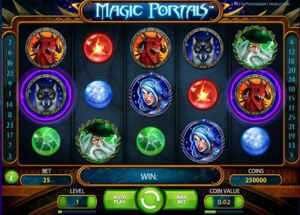 Det nya casinospelet Magic Portals!
