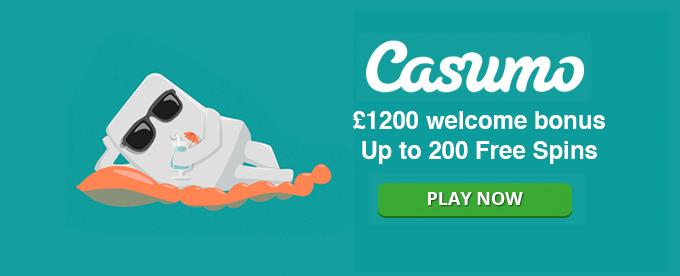 Get an exclusive casino bonus at Casumo