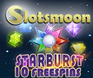 SLOTSMOON GIVES 10 FREE SPINS NO DEPOSIT