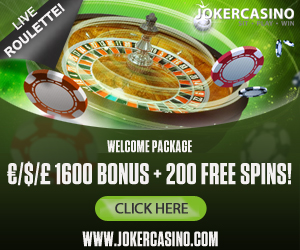 10 NO DEPOSIT FREE SPINS AT JOKER CASINO
