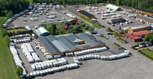 Bild över vår anläggning i Mantorp
