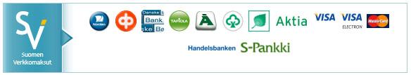 Suomen verkkomaksut - maksuvaihtoehdot