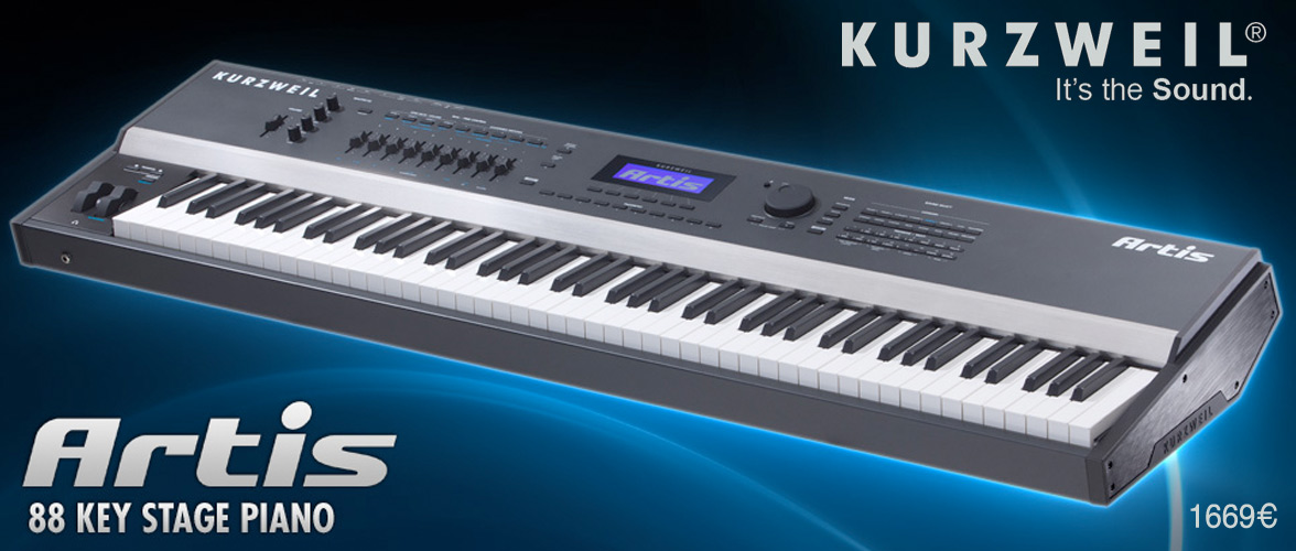 Kurzweil Artis 88 keikkipiano