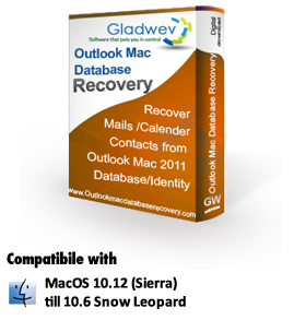 Outlook Mac Database Recovery on Mac, Repair Outlook Mac Database