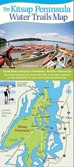 Kitsap Peninsula Water Trail Map