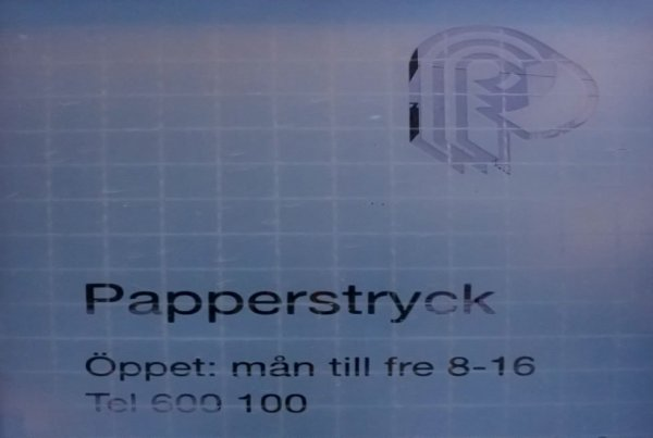 Papperstryck