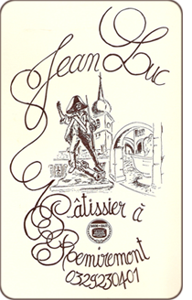 Logo Pâtisserie Jean-Luc