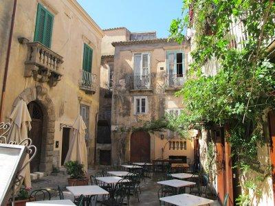 Restaurang i Tropea