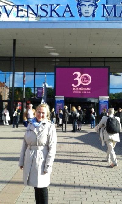 Anita Jacobson Bokmässan i Göteborg 2014
