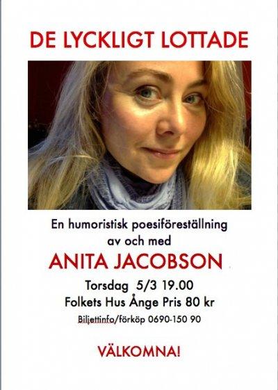 De lyckligt lottade – Anita Jacobson