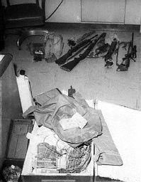 Charles Whitman's Tower Equipment, as photographed by the Police