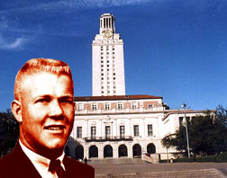 Sniper Charles Whitman with University Tower
