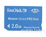 2GB Memory Stick Pro Duo Sony Playstation Portable PSP