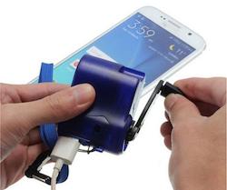 Dynamo-Ladegerät für Handys