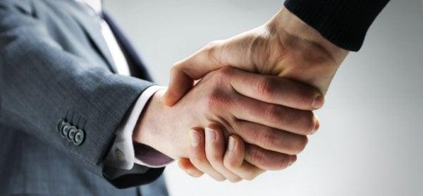 Rekrytering Stockholm - handskakning
