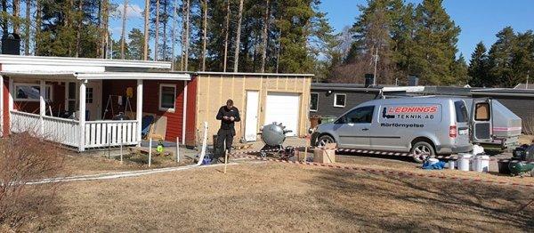 När vi utförrelining i Luleåutför vi alltid en inledande rörinspektion.